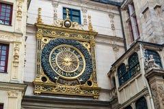 Stor-klockan av Rouen Arkivbild