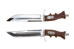 Stor knivbandit Royaltyfria Bilder