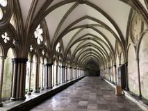 stor korridor Arkivfoton