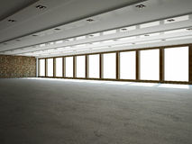 stor korridor royaltyfri bild