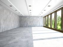 stor korridor arkivbild