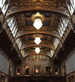 stor korridor Royaltyfria Foton
