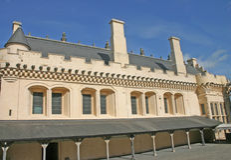 stor korridor scotland stirling för slott Royaltyfri Fotografi