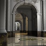 stor korridorlyx Royaltyfri Bild