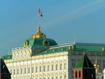 stor kremlin moscow slott fotografering för bildbyråer