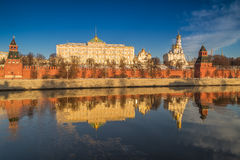 Stor Kremlslott i Moskva Royaltyfri Bild