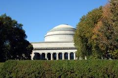 Stor kupol av MIT i Boston Fotografering för Bildbyråer