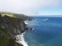 stor kustlinjesur Fotografering för Bildbyråer
