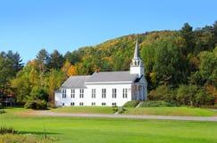 Stor kyrka i Vermont arkivfoton