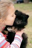 stor kyss royaltyfri foto