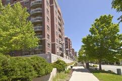 Stor lägenhetskomplex Salt Lake City Royaltyfri Foto