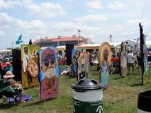 Stor lätt stil för New Orleans jazz & för arvfestival Arkivfoto