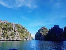 Stor lagun Royaltyfria Bilder