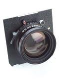 stor lins för kameraformat Arkivfoton