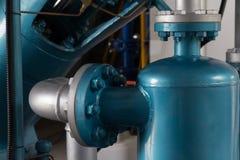 Stor luftkompressor royaltyfri foto