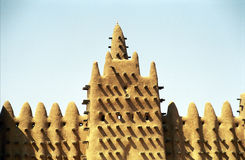 stor mali för djenne moské Royaltyfri Fotografi