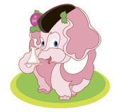 Stor mamma - elefant Royaltyfri Bild