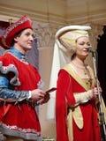Stor maskeradkläderboll Royaltyfri Bild