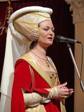 Stor maskeradkläderboll Royaltyfria Foton