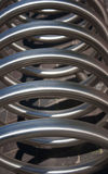 Stor metallspiral Royaltyfria Foton