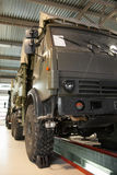 Stor militär lastbil Royaltyfri Fotografi