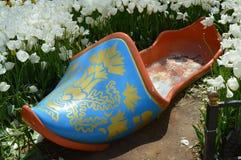 Stor modell av turkiskt traditionellt skodon royaltyfri fotografi