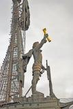 stor monument moscow peter till Royaltyfria Bilder