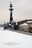 stor monument moscow peter till Arkivbilder
