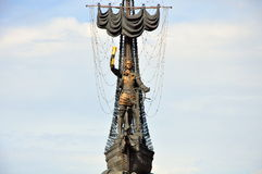 stor monument peter till Royaltyfria Foton
