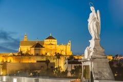 Stor moské av Cordoba, Andalusia, Spanien Arkivbild