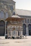 Stor moské av Damascus Royaltyfria Bilder