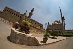 Stor moské av Muhammad Ali Pasha i Kairo Royaltyfri Fotografi