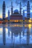 Stor moské av Semarang Royaltyfri Fotografi