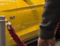 Stor motorbilnärbild Royaltyfri Foto