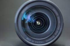 Stor närbild för lins för digital kamera Royaltyfria Foton