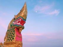 Stor Naga i Thailand Royaltyfri Bild