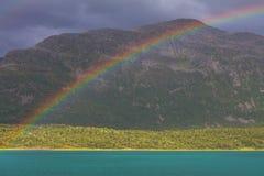 stor norr norway nederbördsommar Royaltyfri Fotografi