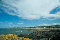 stor norr sky för berwick royaltyfri bild