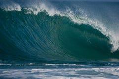 stor oahu wave royaltyfria foton