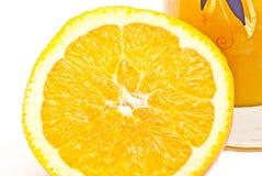 stor orange Arkivfoton