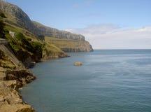 Stor Orme västra halvö Llandudno norr Wales Royaltyfri Fotografi
