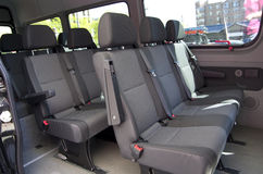 Stor passagerareskåpbil Royaltyfria Foton