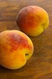 Stor persika två Royaltyfri Foto