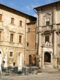 Stor Piazza Royaltyfri Fotografi