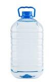 Stor plast- flaska av sötvatten Arkivbild