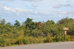 Stor Pocono delstatspark i Pennsylvania Royaltyfria Bilder