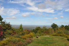Stor Pocono delstatspark i Pennsylvania Arkivfoto