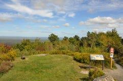 Stor Pocono delstatspark i Pennsylvania royaltyfri bild
