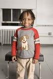 stor pojke little leende Royaltyfria Foton