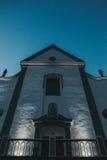 Stor protestantkyrka Royaltyfri Fotografi